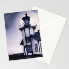 Standing Against the Fog Stationery Cards