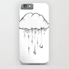 Happy Cloud Drawing, Cute Whimsical Illustration Slim Case iPhone 6s