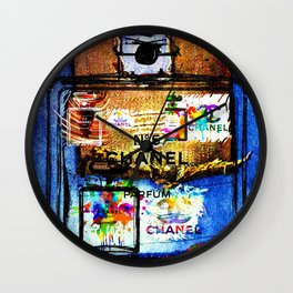 No 5 Patches Wall Clock