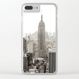 Static Empire Clear iPhone Case