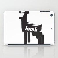 lamb iPad Cases featuring LAMB by MDRMDRMDR