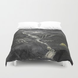 Lonely Mountains Duvet Cover