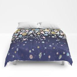 Fallling Gems Comforters