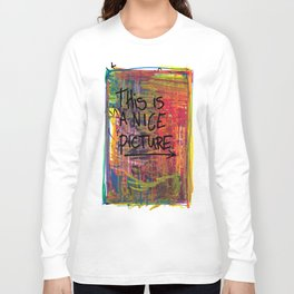 Nice Picture Long Sleeve T-shirt