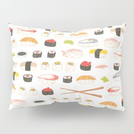 Sushi Pattern Pillow Sham