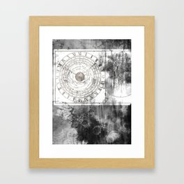 Clepsydra Framed Art Print