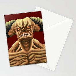 Cyberdemon from DOOM Stationery Cards
