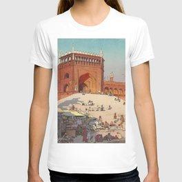 Hiroshi Yoshida Jami Masjid Vintage Japanese Woodblock Print East Asian Cultural Art T-shirt
