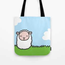 Sleeping Sheep Tote Bag