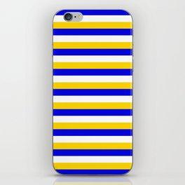 Bosnia Herzegovina Uruguay flag stripes iPhone Skin