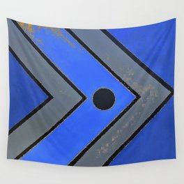 Fish - Blue Wall Tapestry