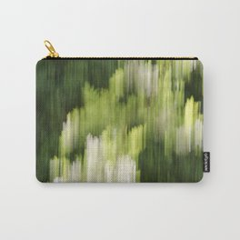 Green Hue Realm Carry-All Pouch