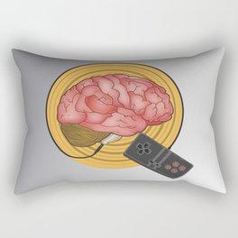 Brain Control Rectangular Pillow