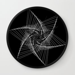 Chaos Star Wall Clock