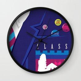 80s TEEN MOVIES :: CLASS Wall Clock