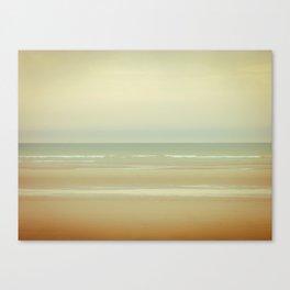 Beach North Sea Canvas Print