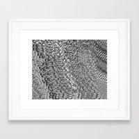 metallic Framed Art Prints featuring metallic by clemm