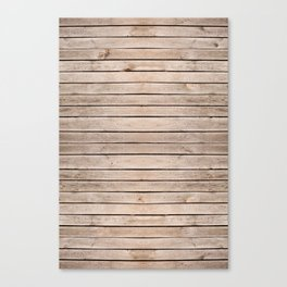 Weathered boards texture abstract Canvas Print