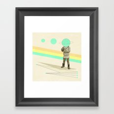 he believes he can fly Framed Art Print