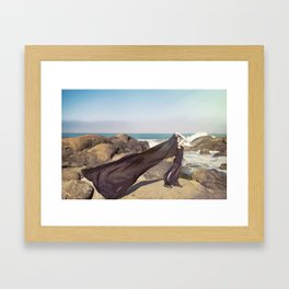 Bewitching Sea Framed Art Print