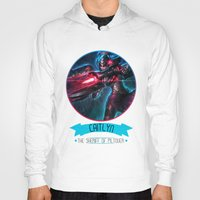 league of legends Hoodies featuring League Of Legends - Caitlyn by TheDrawingDuo