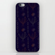 Purple Weeds iPhone & iPod Skin