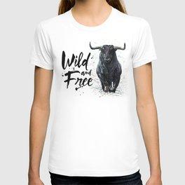 Buffalo wild & free T-shirt