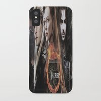 legolas iPhone & iPod Cases featuring kili,legolas,tauriel,the hobbit,lord of the rings by ira gora