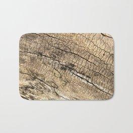 Log Texture Bath Mat