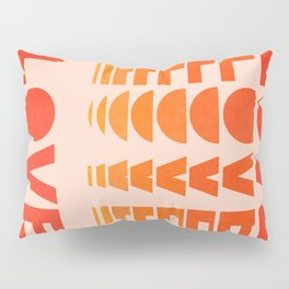 Abstraction_LOVE_SUNSET_Minimalism_001 Pillow Sham