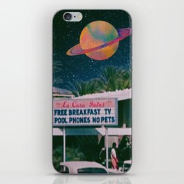 greetings from palm springs iPhone Skin