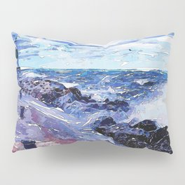 Lake Michigan Waves Pillow Sham