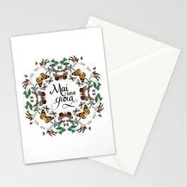 mai una gioia Stationery Cards