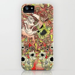 Comes in Three iPhone Case