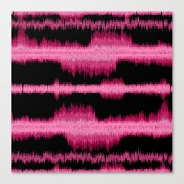 sound shock waves Canvas Print