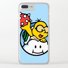 The Rider of the Clouds Clear iPhone Case