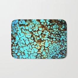 Copper crackle Bath Mat