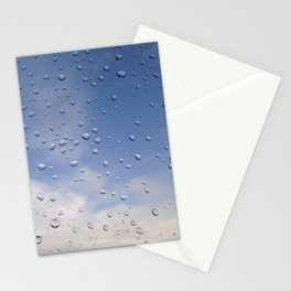 raindrop love Stationery Cards