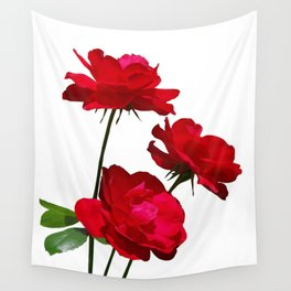Roses are red, really red! Wall Tapestry