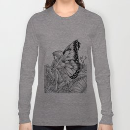 Shy Butterfly Long Sleeve T-shirt