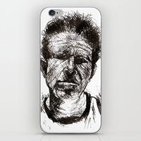 tom waits iPhone & iPod Skins featuring Tom Waits Bad As Me  by b_ethany