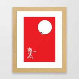 Inflated Ego Framed Art Print