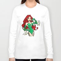 poison ivy Long Sleeve T-shirts featuring Poison Ivy by Chris Thompson, ThompsonArts.com