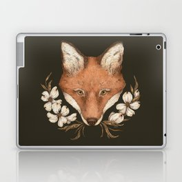 The Fox and Dogwoods Laptop & iPad Skin