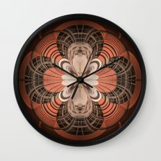 Building Abstraction Wall Clock