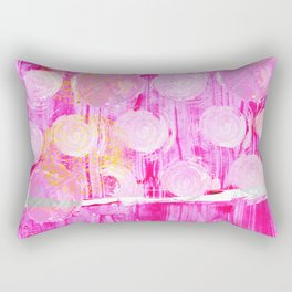 Luminosity of cerise Rectangular Pillow