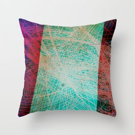 String Theory 01 Throw Pillow