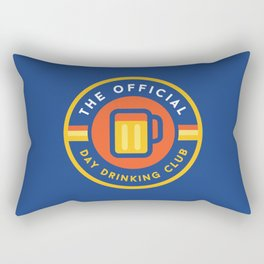 Day Drinking Club Rectangular Pillow