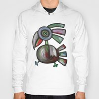 parrot Hoodies featuring Parrot by Rudolf Brancovsky