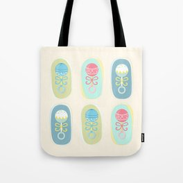 Baby rattles Tote Bag